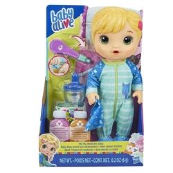 Baby Alive - Baby Alive Bebeğim Hasta Oldu-Sarışın Hasbro-E6937