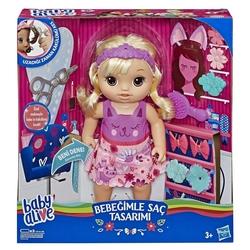 Baby Alive - Baby Alive Bebeğimle Saç Tasarımı Hasbro-E5241