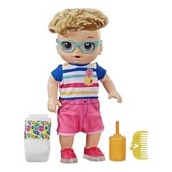Baby Alive - Baby Alive Işıklı Ayakkabılarıyla Neşeli Erkek Bebeğim Hasbro E5244