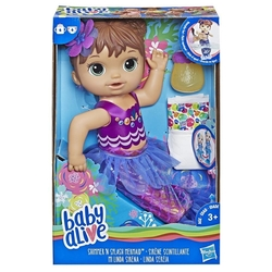 Baby Alive - Baby Alive Kumral Deniz Kızı Bebeğim E3691