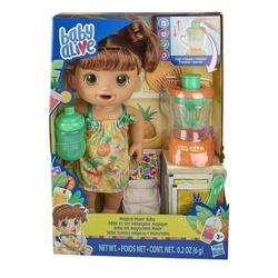 Baby Alive - Baby Alive Oyuncak Kumral Bebeğim ve 3 Sihirli Mikserim E6944