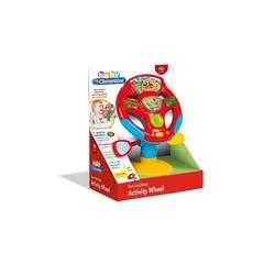Clementoni - Baby Clementoni Oyuncak Direksiyon Araba Konsolu Çok Fonksiyonlu