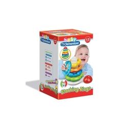 Clementoni - Baby Clementoni Renkli Halkalar 6-36 ay
