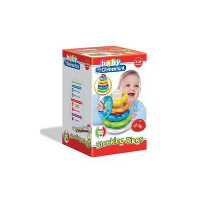 Baby Clementoni Renkli Halkalar 6-36 ay