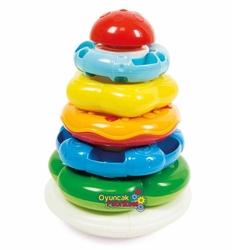 Baby Clementoni Renkli Halkalar 6-36 ay - Thumbnail