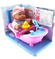 MEGA - Baby Gadi Bebeğim Banyoda