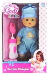 MEGA - Baby Gadi Biberonlu Sevimli Bebeğim