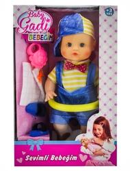 MEGA - Baby Gadi Terlikli Sevimli Bebeğim