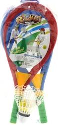 MEGA - Badminton File Raket Seti