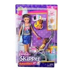 Barbie - Barbie Bebek Bakıcılığı Oyun Seti FHY97