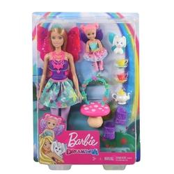 Barbie - Barbie Bebek ve Aksesuarları Oyun Setleri /Dreamtopia Hayaller Ülkesi GJK49