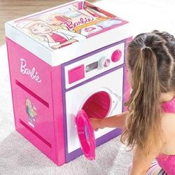 Dolu Oyuncak Fabrikasi - Barbie Büyük Oyuncak Çamaşır Makinası Sesli