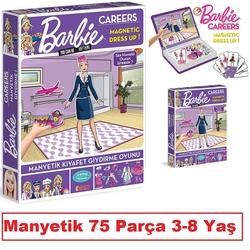 Dıy Toy - Barbie Carreers Manyetik Giydirme Oyunu Kariyer 75 Parça 3-8 Yaş