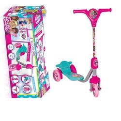 Furkan Toys - Barbie Frenli 3 Tekerli Scooter