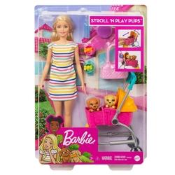 Barbie - Barbie Köpekleri ile Geziyor /Barbienin Hayvanları Mattel GHV92
