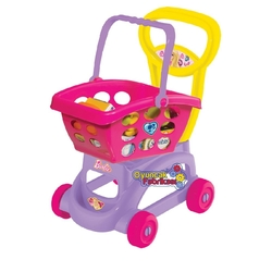 Dede toys - Barbie Market Alışveriş Arabası