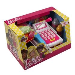 Barbie Oyuncak Yazar Kasa Aksesuarlı Market Kasası Hesap Makinalı - Thumbnail