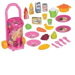Dede toys - Barbie Pazar Arabası 25 Parça