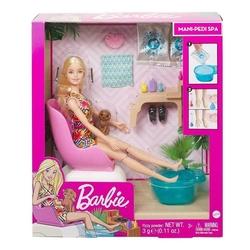 Mattel - Barbie Sağlıklı Tırnak Bakımı Oyun Seti /Barbie Wellness GHN07