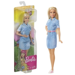 Barbie - Barbie Seyatatte Bebeği /Barbie Seyahat Mattel GHR58