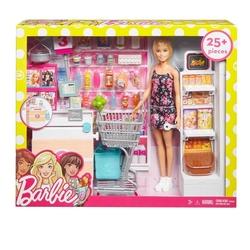 Barbie - Barbie Süpermarkette Oyun Seti 25 Parça FRP01