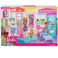 Barbie - Barbie Taşınabilir Oyuncak Portatif Evi (FXG54)