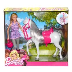 Barbie - Barbie ve Beyaz Atı /Barbienin Hayvanları DHB68