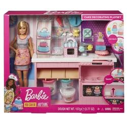 Barbie - Barbienin Pasta Dükkanı Oyun Seti /Barbie Ben Büyüyünce Mattel-GFP59