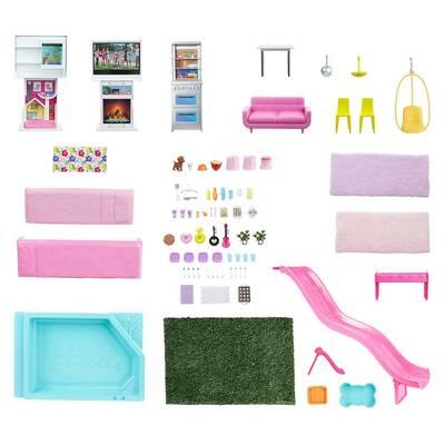 Barbie'nin Rüya Evi Sesli ve Işıklı GRG93