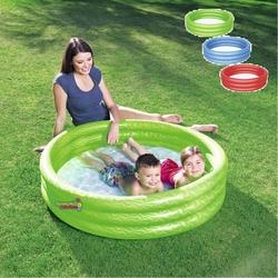 Bestway - Bestway 51025 3 Boğumlu Şişme Çocuk Havuzu 122cm x 25cm 3 Renk