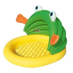 Bestway - Bestway BW 52162 Kurbağa Figürlü Gölgelikli Şişme Çocuk Havuzu