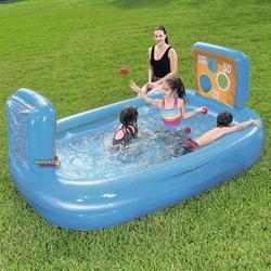 Bestway - Bestway BW 54170 Beceri Atışı Şut Oyunu Çocuk Oyun Havuzu 237x152x94 Cm