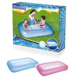 Bestway - Bestway Şişme Tabanlı Dikdörtgen Şişme Bebek Havuzu BW-51115
