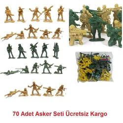 Can Oyuncak - Beta Oyuncak Asker Seti 70 parça