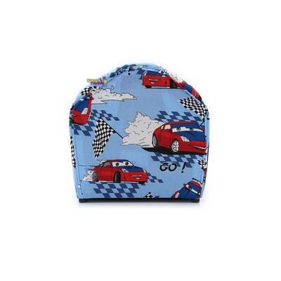 Beta Toys Çocuk Koltuğu Mavi Renk Kırmızı Arabalı Koltuk GO GO