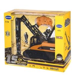 Karsan Toys - Beta Toys Uzaktan Kumandalı Paletli Vinç Metal 15 Foksiyonlu Şarjlı 2.4 GHz 1: 18