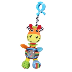 BIBA TOYS - Biba Toys Aktiviteli Zürafa Gigi Puset Oyuncağı