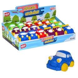 Birlik Oyuncak - Birlik Sürtmeli Oyuncak Afacan Arabalar 10 Cm