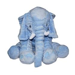 Birlik Oyuncak - Birlik Toys Uyku Arkadaşım Jumbo Mavi Fil Peluş 60 cm