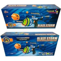 Blaze Storm ZC7051 Pilli Makinalı Tüfek (40 Adet Yumuşak Mermi) - Thumbnail