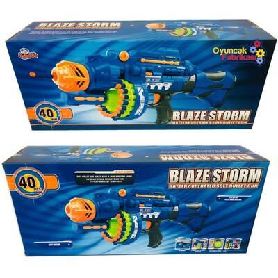 Blaze Storm ZC7051 Pilli Makinalı Tüfek (40 Adet Yumuşak Mermi)