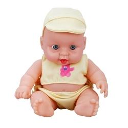 Sunman - Boubou Pijamalı Oyuncak Sesli Et Bebek 20 cm