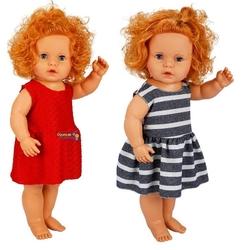 Sunman - Boubou Türkçe Konuşan Oyuncak Saçlı Et Bebek 60 cm 8 Sesli
