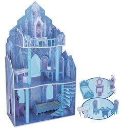 MEGA - Buzlar Prensesi 3 Katlı Ahşap Ev