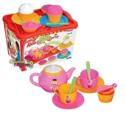 Dede toys - Candy Kap Kek Çay Seti