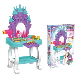 Dede Toys - Candy Ken Oyuncak Şato Güzellik Masası 15 Parça Set-03695