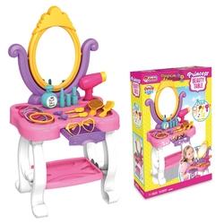 Dede Toys - Candy Ken Prenses Oyuncak Güzellik Masası 15 Parça Set 03696