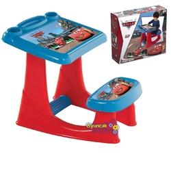 Dede toys - Cars Lisanslı Çocuk Ders Çalışma Masası