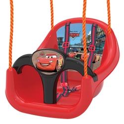 Dede toys - Cars Salıncak Lisanslı Emniyet Kemerli Çocuk Salıncağı