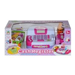 Cash Register Elektronik Oyuncak Yazar Kasa Market Kasası Sesli Işıklı - Thumbnail